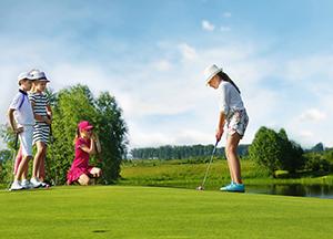 Golf wireless network system