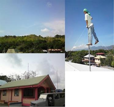 The deployment of KW8800 outdoor wireless birdges