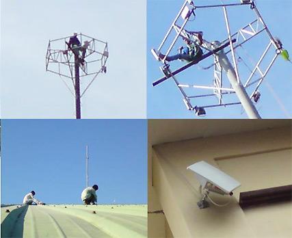 Contructing outdoor wireless backhaul network with KW8800 outdoor wireless birdges